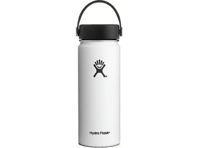 Hydro Flask Wide Mouth Flex Bottle 18oz (532ml) White